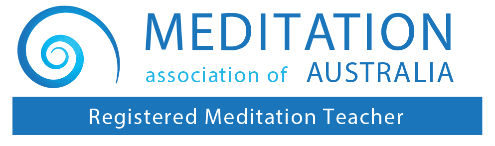 meditation australia logo registered teacher